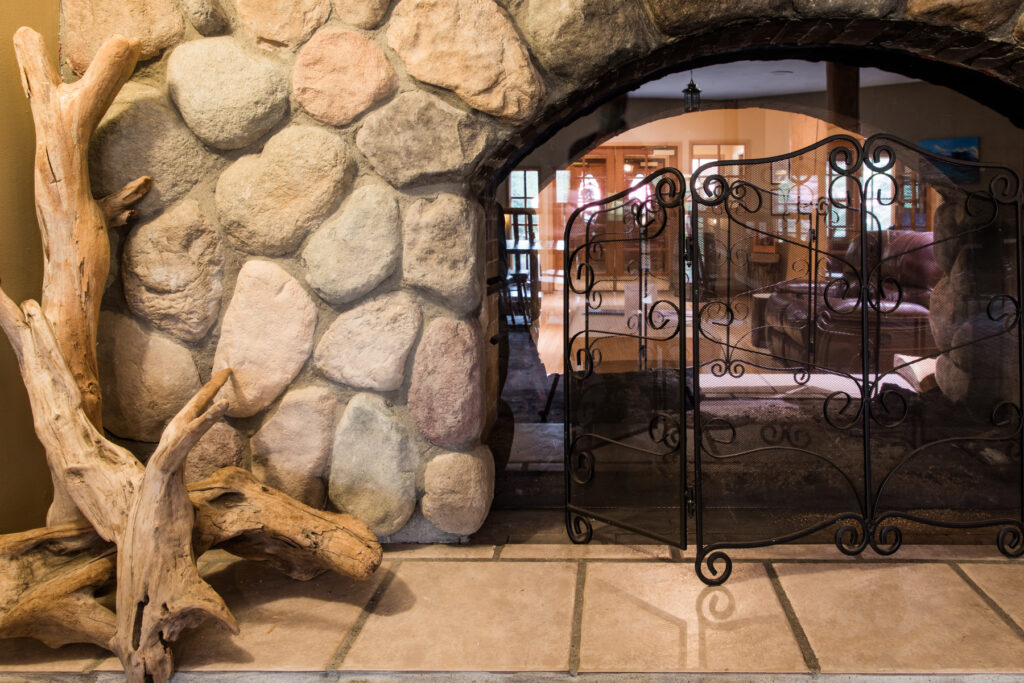 antlers-by-stone-fireplace